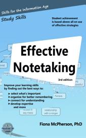 Effective Notetaking