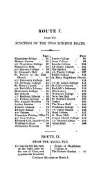 The Oxford university and city guide  To which is added  a guide to Blenheim  Nuneham   c     With  Appendix PDF