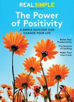 Real Simple the Power of Positivity PDF