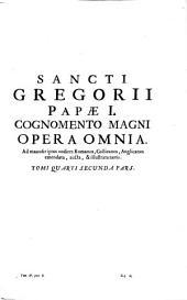 Opera Omnia: Ad Manuscriptos Codices Romanos, Gallicanos, Anglicanos emendata, aucta, & illustrata notis, Volume 4, Issue 2