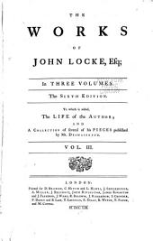 Works of John Locke: Volume 3