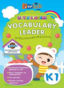 e Little Leaders  Vocabulary Leader K1 Book