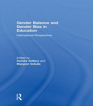Gender Balance and Gender Bias in Education PDF