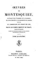 Oeuvres de Montesquieu: Volume4