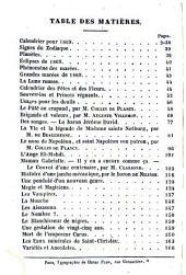 Almanach prophétique, pittoresque et utile pour ...: Volume19