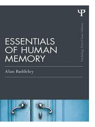 Essentials Of Human Memory Classic Edition  Book PDF