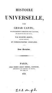 Histoire universelle, tr. par E. Aroux et P. Léopardi: Volume 15
