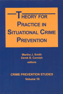 Theory for Practice in Situational Crime Prevention PDF