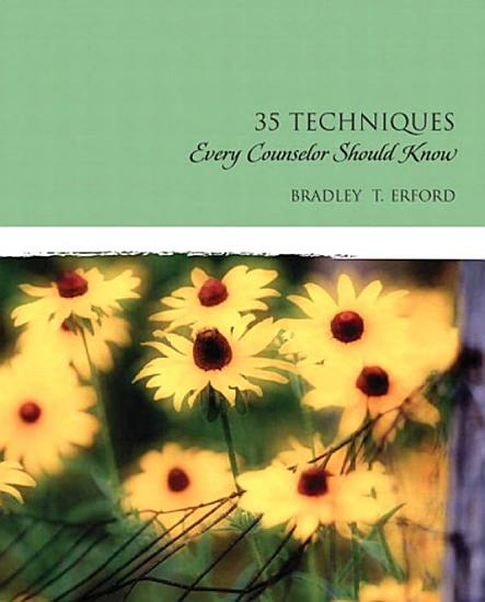 Thirty Five Techniques Every Counselor Should Know PDF
