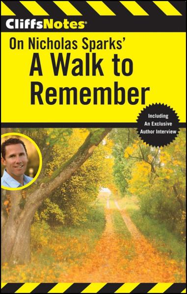 CliffsNotes On Sparks' A Walk to Remember