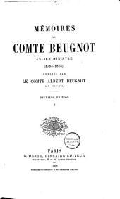 Mémoires du comte Beugnot, ancien ministre (1783-1815)