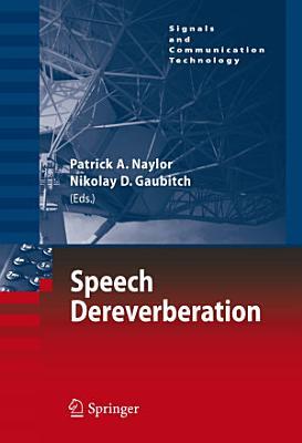 Speech Dereverberation PDF