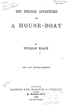 The Strange Adventures of a House boat PDF