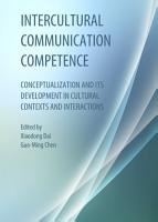 Intercultural Communication Competence PDF