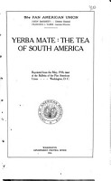 Yerba Mate  the Tea of South America     PDF