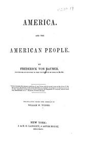 America and the American People