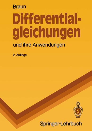 Differentialgleichungen und ihre Anwendungen PDF