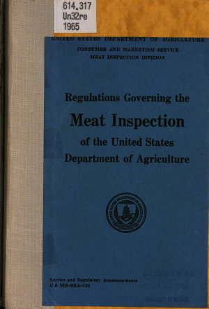 Meat and Poultry Inspection Regulations PDF