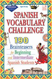 Spanish Vocabulary Challenge