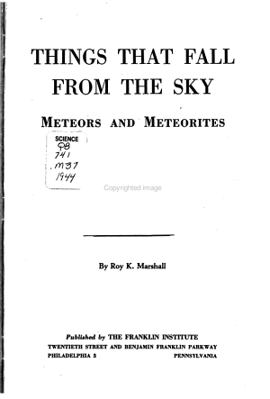 Things that Fall from the Sky PDF