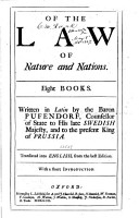 Of the Law of Nature and Nations PDF