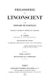 Philosophie de l'inconscient: Volume2