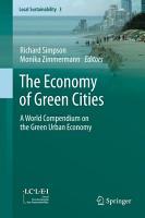 The Economy of Green Cities PDF