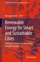 Renewable Energy for Smart and Sustainable Cities PDF