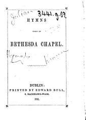 Hymns used in Bethseda Chapel