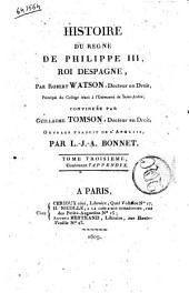 Histoire Du Regne De Philippe III