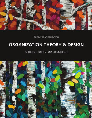 Organization Theory and Design 3CE
