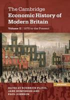 The Cambridge Economic History of Modern Britain PDF