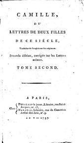 Camille ou lettres de deux filles de ce siècle: Volume2