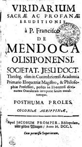 Viridarium Sacrae Ac Profanae Eruditionis