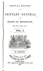 Annual Report of the Adjutant General of the State of Michigan for the Year ...