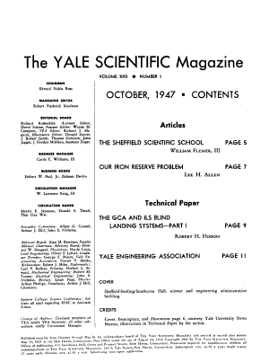 The Yale Scientific Magazine PDF