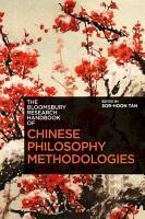 The Bloomsbury Research Handbook of Chinese Philosophy Methodologies PDF