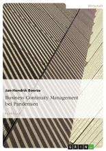 Business Continuity Management bei Pandemien PDF