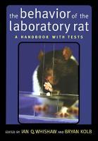 The Behavior of the Laboratory Rat PDF