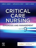 Critical Care Nursing   E Book PDF