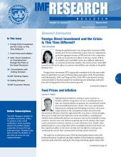 IMF Research Bulletin, March 2012