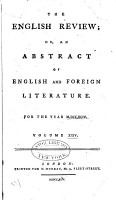 The English Review  Or  An Abstract of English and Foreign Literature PDF