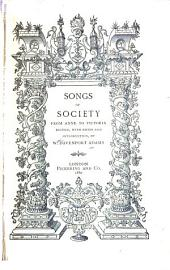 Songs of Society, from Anne to Victoria