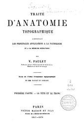 Traité d'anatomie topographique: Volume3