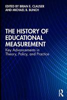 The History of Educational Measurement PDF