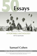 50 Essays  A Portable Anthology  High School Edition