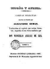 España y Africa: Volumen 1