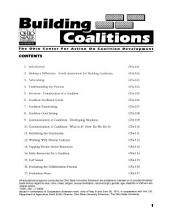 Building Coalitions: Coalition Formation And Maintenance