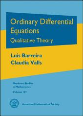 Ordinary Differential Equations: Qualitative Theory