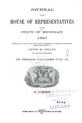 Journal of the House of Representatives of the State of Michigan: Volume 2